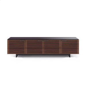 Low Media Cabinet 8173 in Chocolate Stained Walnut -