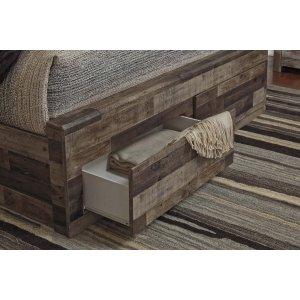 Ashley Furniture King Storage Footboard