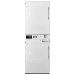 WhirlpoolCommercial Electric Stack Dryer, Coin-Drop Equipped