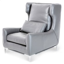 Lazzio Leather Wing Chair