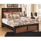 Aimwell - Dark Brown 3 Piece Bed Set (Queen) Product Image