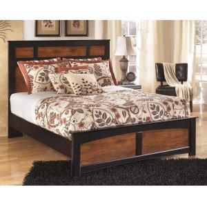 Ashley Furniture Aimwell - Dark Brown 3 Piece Bed Set (Queen)