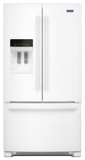 36- Inch Wide French Door Refrigerator with PowerCold™ Feature - 25 Cu. Ft.