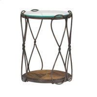 Hidden Treasures Round End Table Product Image