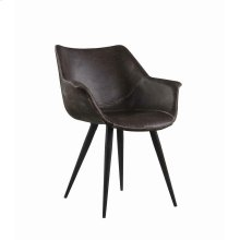 Modern Brown and Grey Dining Chair