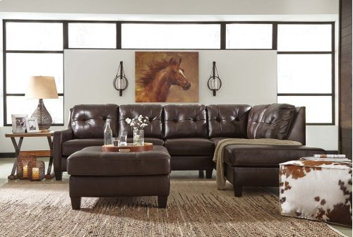 O'Kean - Mahogany 2 Piece Sectional