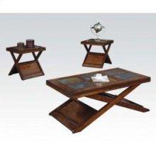 3pc Pk Coffee/end Table Set