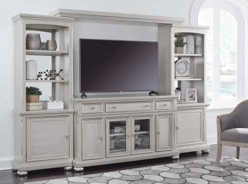 TV Stand with Piers & Bridge