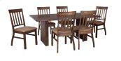 Zilmar - Medium Brown 7 Piece Dining Room Set