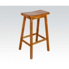 "Oak 29"" Solid Wood Stool"