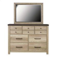Barnwood 7 Drawer Dresser