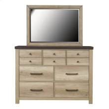 Barnwood 7 Drawer Dresser