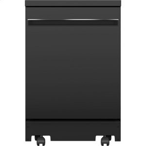"GEGE(R) 24"" Stainless Steel Interior Portable Dishwasher with Sanitize Cycle"