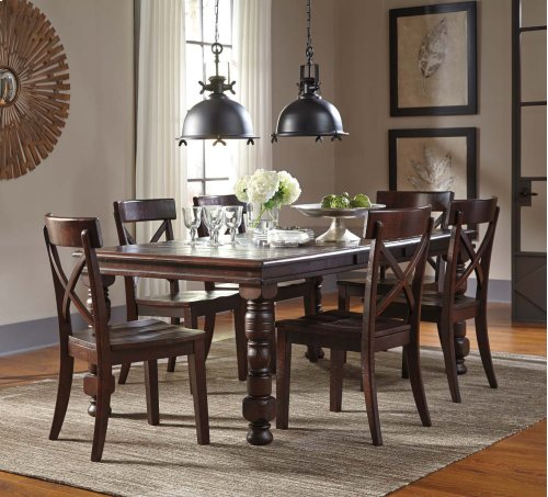 Gerlane - Dark Brown 5 Piece Dining Room Set