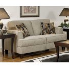 Soprano Radical Peppercorn Loveseat Product Image