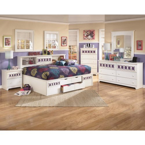 Zayley - White 2 Piece Bedroom Set