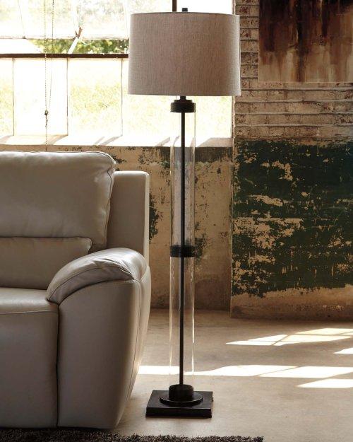 Glass Floor Lamp (1/CN)