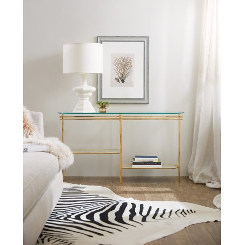 Living Room Well Balanced Console Table