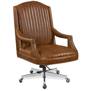 Hooker FurnitureHome Office Claybrook Executive Swivel Tilt Chair w/ Metal Base