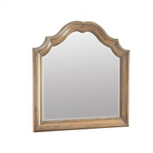 Ilana Warm Oak Vanity Mirror