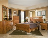 Bittersweet - Light Brown 6 Piece Bedroom Set Product Image