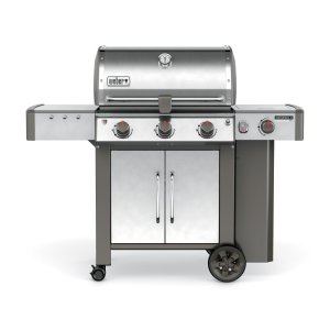 WeberGenesis II LX S-340 Gas Grill Stainless Steel Natural Gas