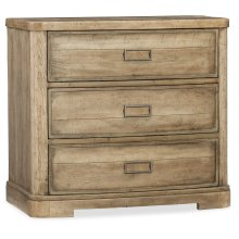 Bedroom Urban Elevation Three-Drawer Nightstand