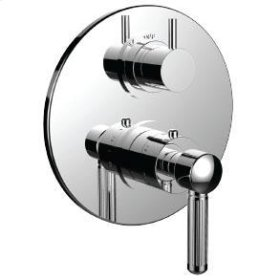 """1/2"""" Thermostatic Trim With 3-way Diverter Trim (shared Function) in Antique Bronze"""