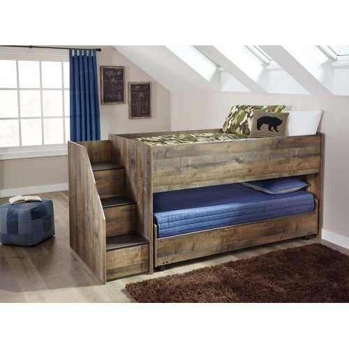 Trinell - Brown 5 Piece Bed Set (Twin)