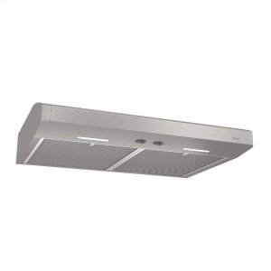 BroanBroan® 30-Inch Convertible Under-Cabinet Range Hood, 250 CFM, Stainless Steel