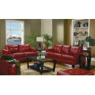 Samuel Transitional Red Two-piece Living Room Set Product Image