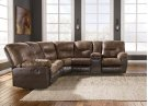 Leonberg - Coffee 2 Piece Sectional Product Image