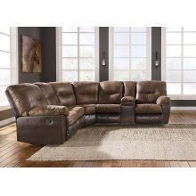Leonberg - Coffee 2 Piece Sectional