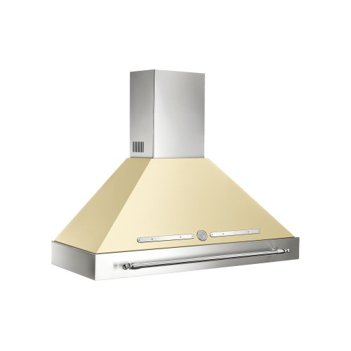 48 Wallmount Canopy and Base Hood, 1 motor 600 CFM Matt Cream
