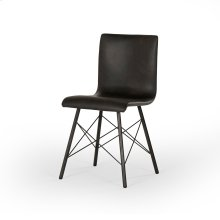 Diaw Dining Chair-distresses Black