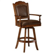 Nassau Swivel Bar Height Stool