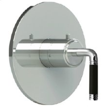"""7093cb - Trim 3/4"""" Thermostatic Control in Wrought Iron"""