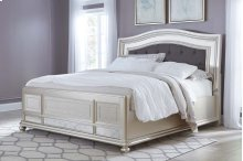 Coralayne - Silver 3 Piece Bed Set (Cal King)