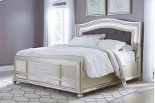 Coralayne - Silver 3 Piece Bed Set (Cal King)