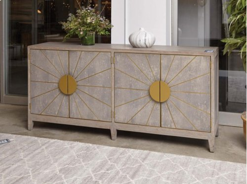 Shannon 4Dr Sideboard Gray