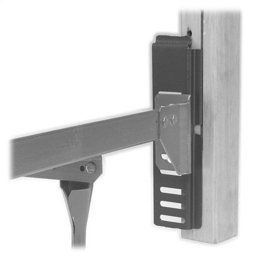 Bed Frame Conversion Adapter Hook for Bolt-On to Hook-On Brackets, 2-Pack