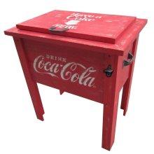 Coca-Cola® Vintage Wooden Cooler
