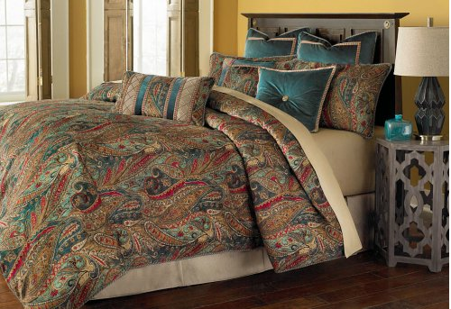 10pc King Comforter Set Honey