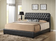 Barnes Black Queen Bed