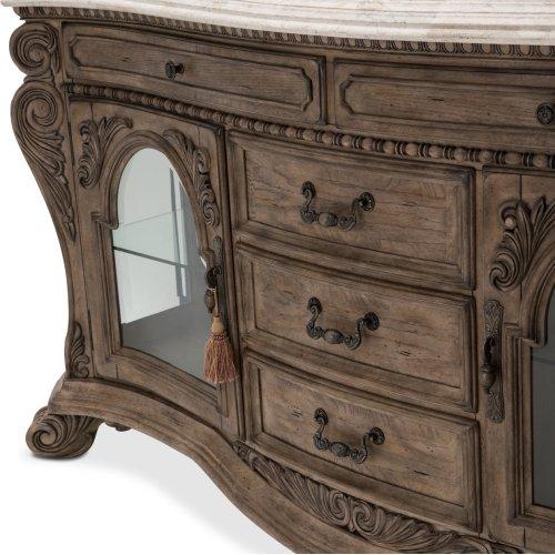 Villa Di Como Sideboard W/mirror Heritage