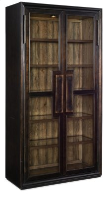 Dining Room Crafted Display Cabinet