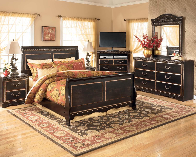Hidden · Additional Coal Creek   Dark Brown 2 Piece Bedroom Set