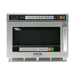SharpSharp TwinTouch 2200 Watt Commercial Microwave Oven with Dual TouchPads