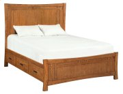 LSO Prairie City Queen Panel Storage Bed Product Image