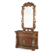 Bachelor's Chest & Decorative Mirror